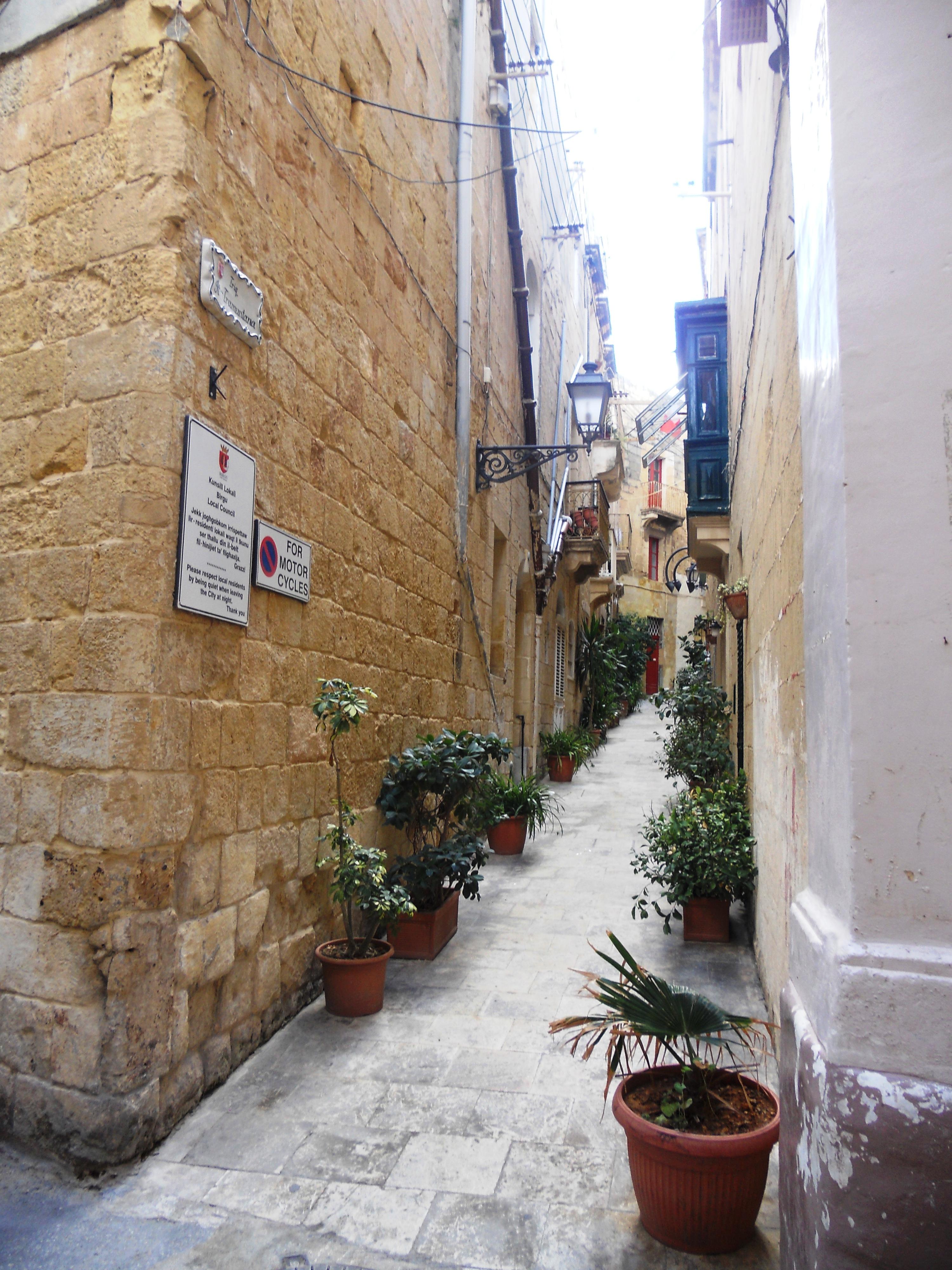 Malte Birgu 1 Quelques photos de ma retraite au soleil à Malte