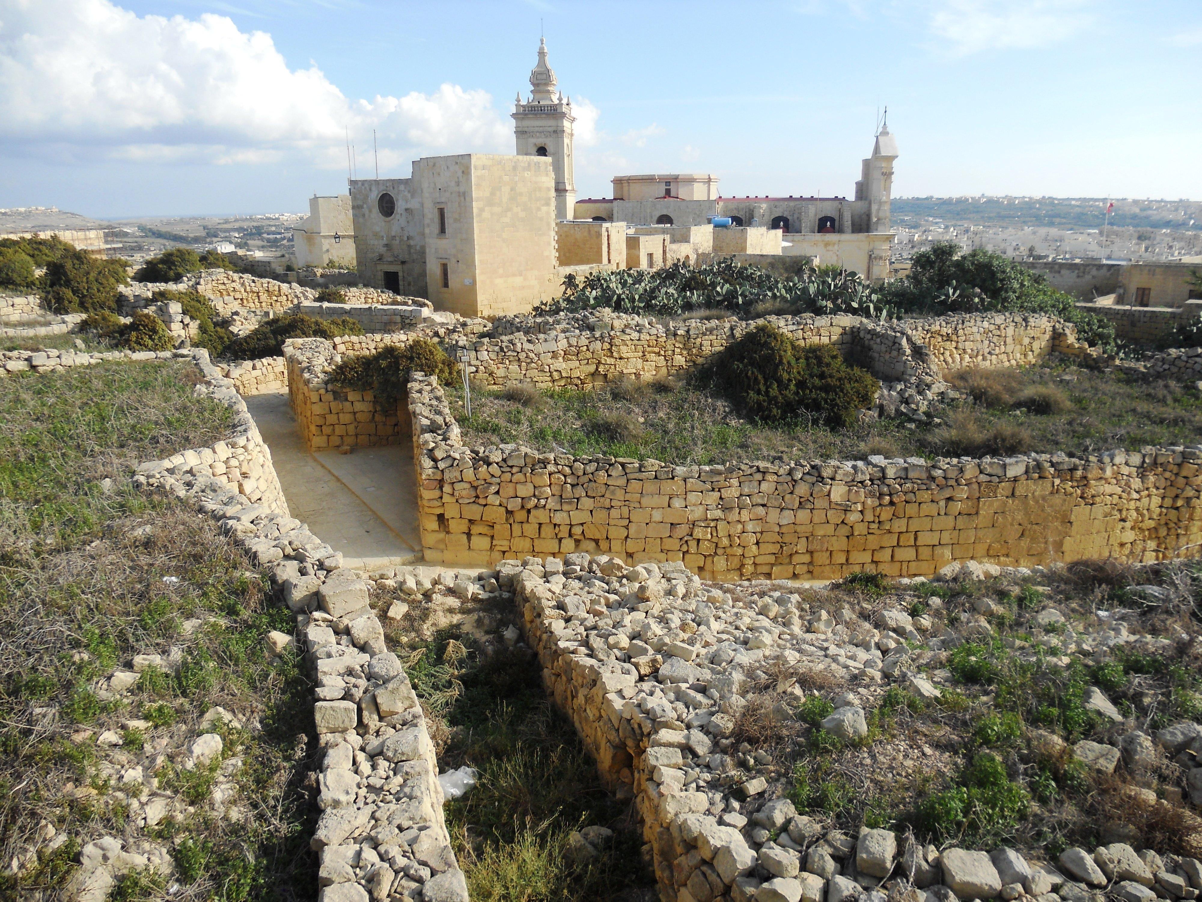Malte Gozo Citadelle Quelques photos de ma retraite au soleil à Malte