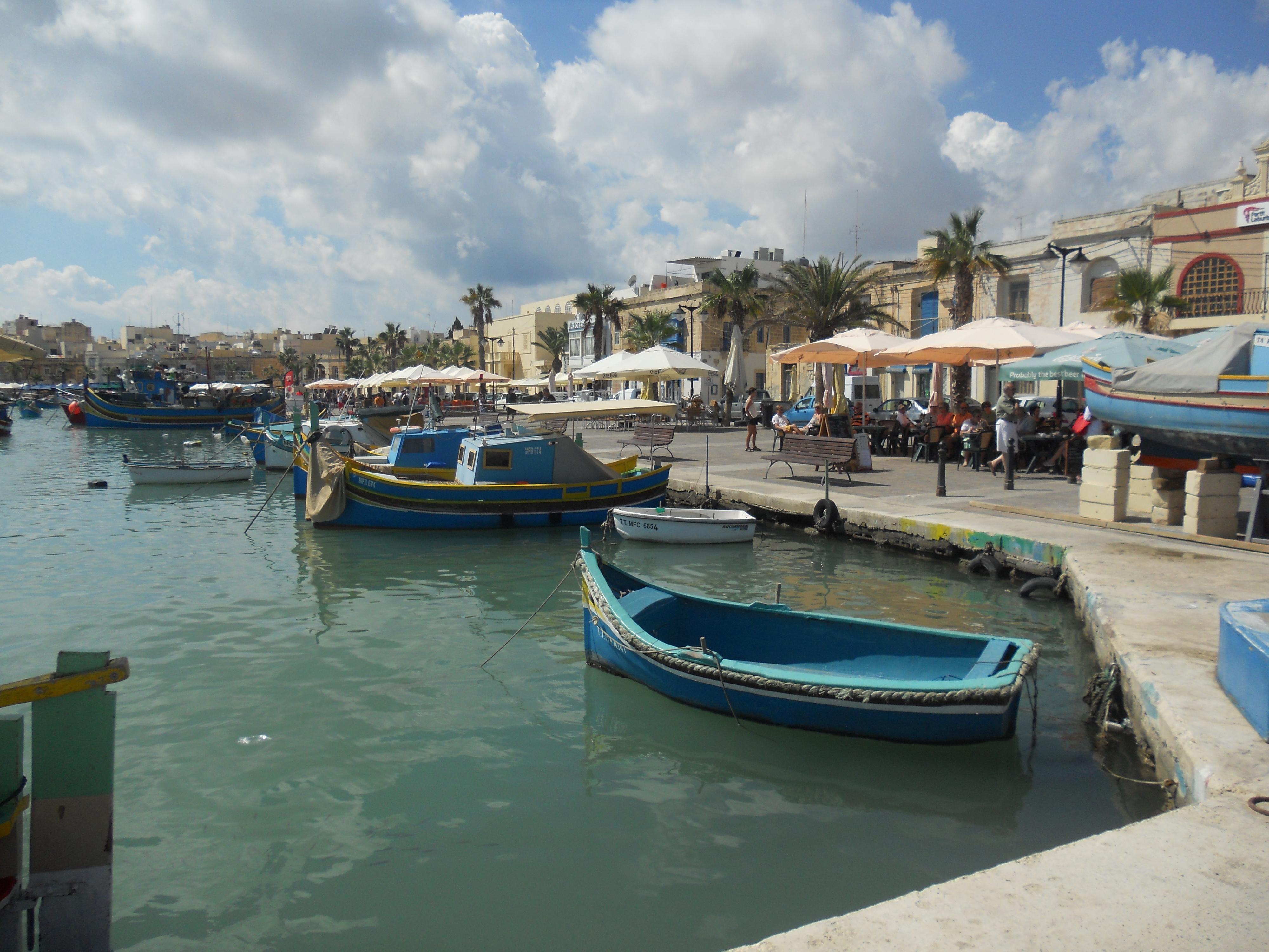 Malte Marsaxlokk 1 Quelques photos de ma retraite au soleil à Malte