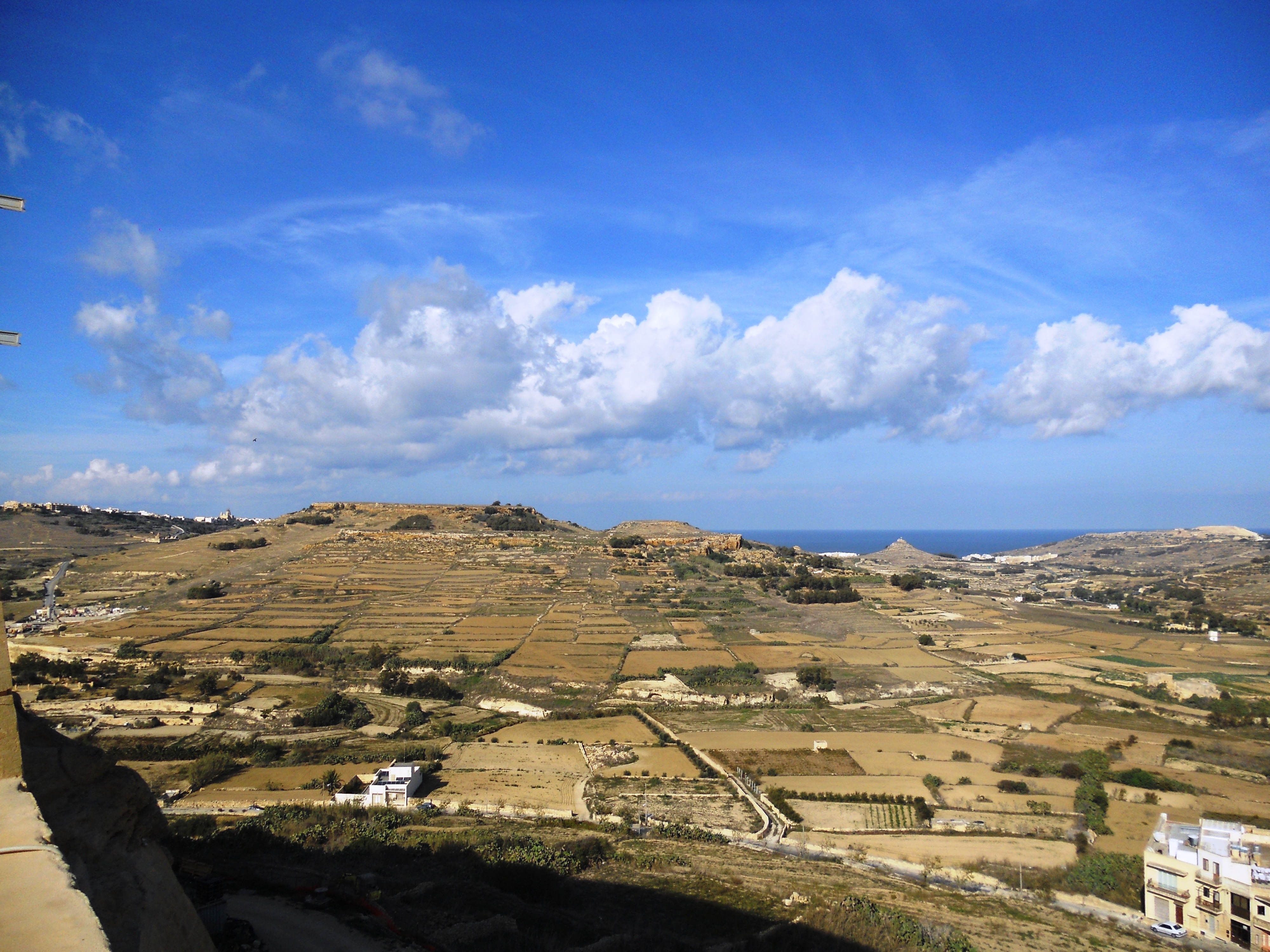 Malte Paysage Gozitain Quelques photos de ma retraite au soleil à Malte
