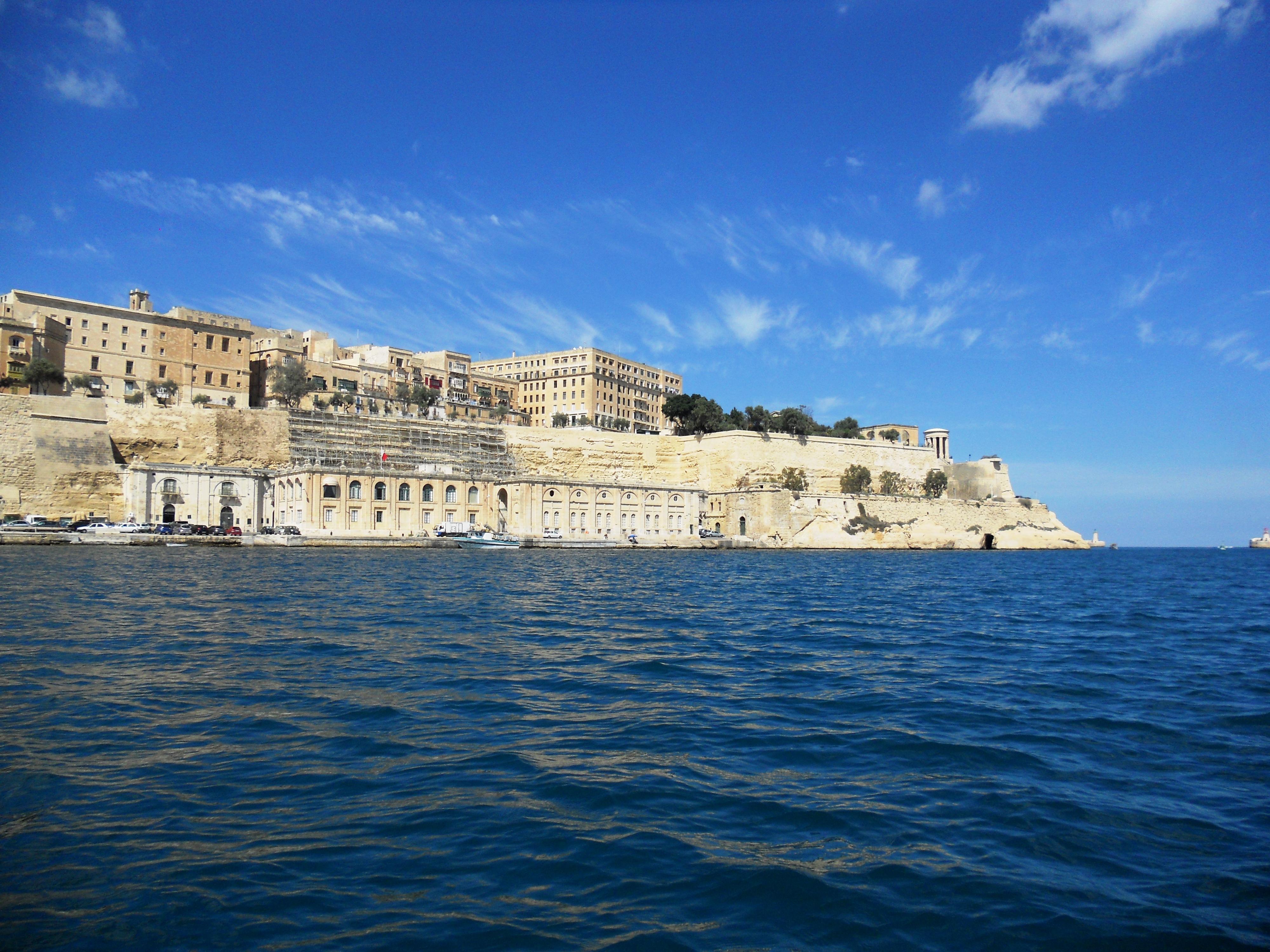 Malte Valletta Vue jardin Barraka du bas Quelques photos de ma retraite au soleil à Malte