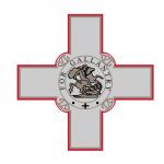 croix drapeau Malte 150x150 Drapeau, blason et autres symboles de Malte